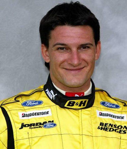 Гонщик Джорджио Пантано, ездил для Иорданской команды Формулы Один.