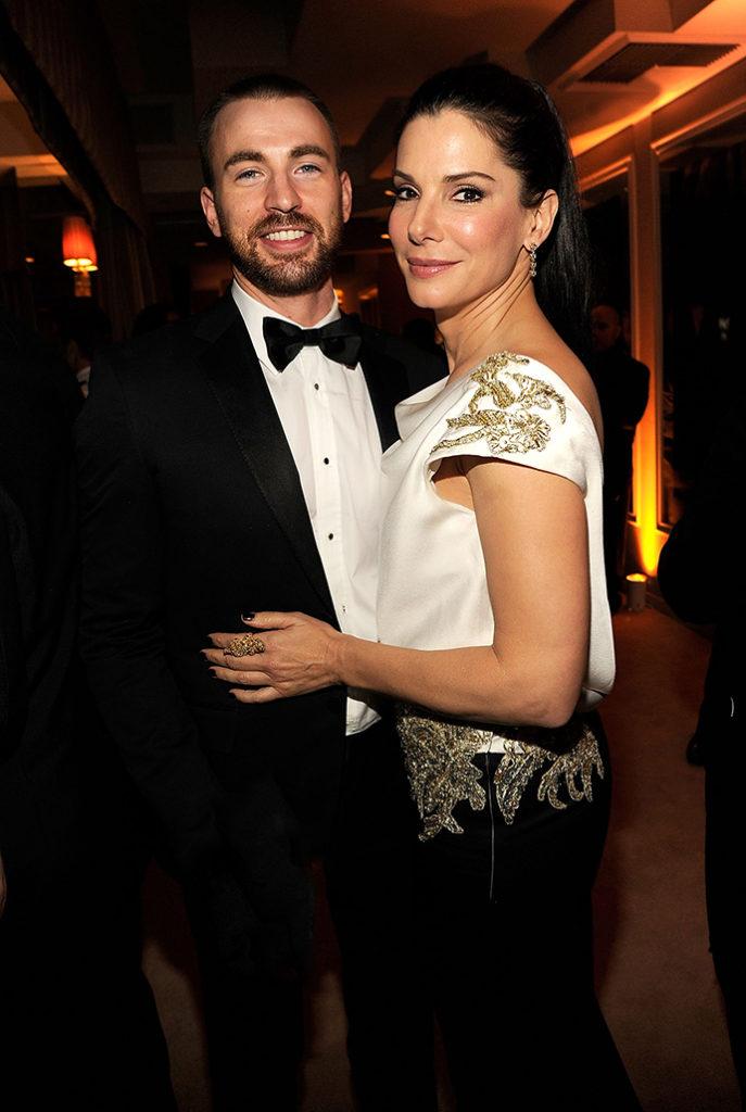 Сандра Буллок и Крис Эванс-горячая пара Голливуда!
