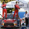 8955 Гонщик Себастьен Леб, конкурировал за Команду Ралли Citroën World.