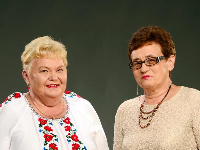 София Малиновская и Нина Осипенко.