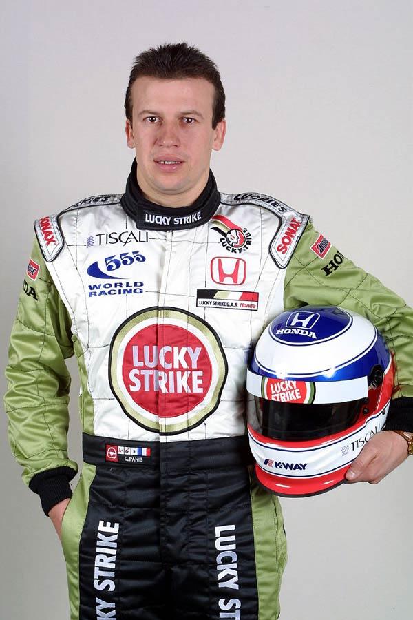9258 Гонщик Оливье Панис - ездил в Формуле Один в течение десяти сезонов.