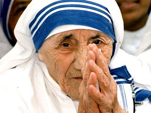 Католическая монахиня, Мать Тереза