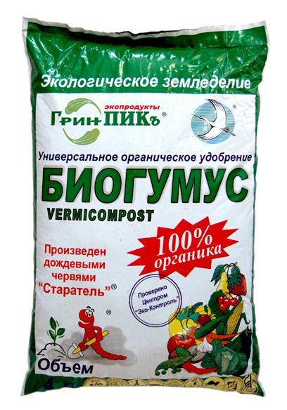 Удобрения. Удобрения органические Биогумус. Смеси на основе биогумуса», гр.