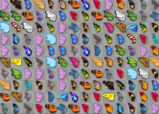 Бабочки маджонг играть