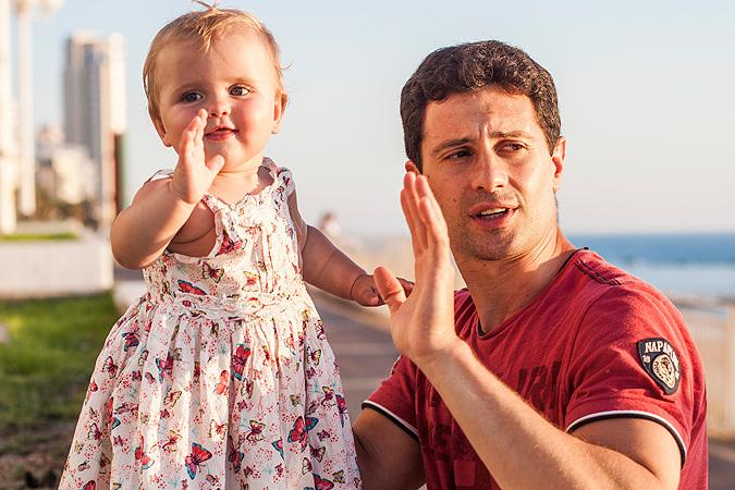 Последние новости. Антон Макарский со своей дочкой