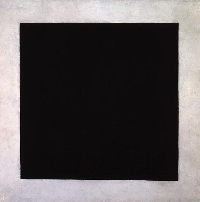 Художник Казимир Малевич, картина Чёрный квадрат