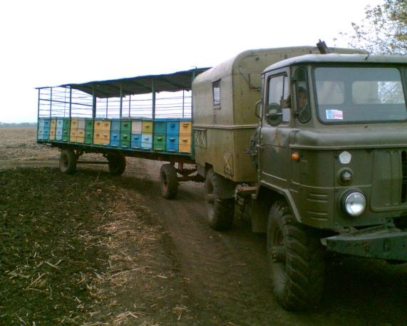 19721 Кочевое пчеловодство