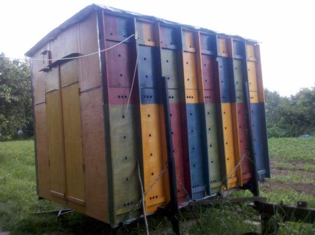 Содержание пчел в павильонах