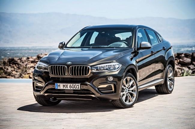 Автомобили 2015, BMW X6 (F16)