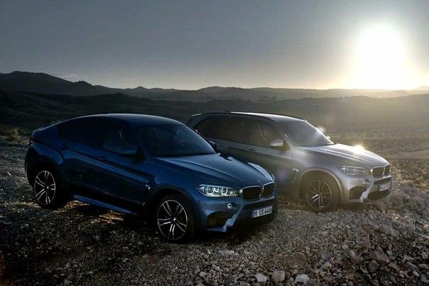 Автомобили 2015, BMW X5 M (F85), BMW X6 M (F86)