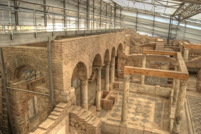 Турция. Римские дома ленточной застройки Эфеса