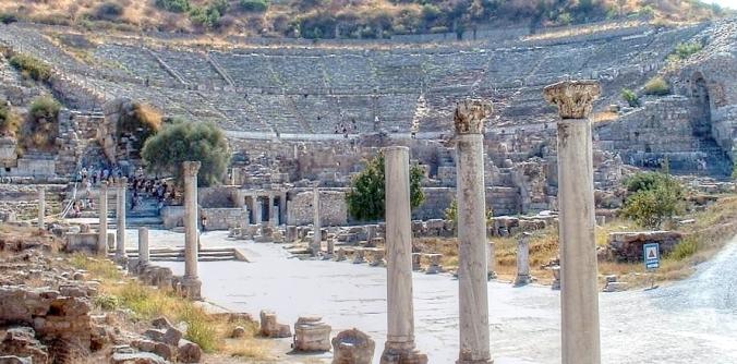 Турция. Большой театр древнего Эфеса