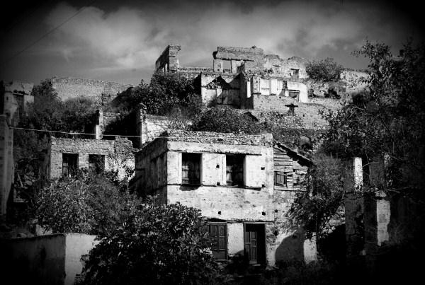 Турция. Призрачная деревня Каякея