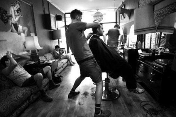 Мужская стрижка в Турции