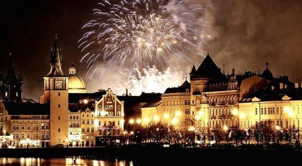 22608 Новый год в Чехии
