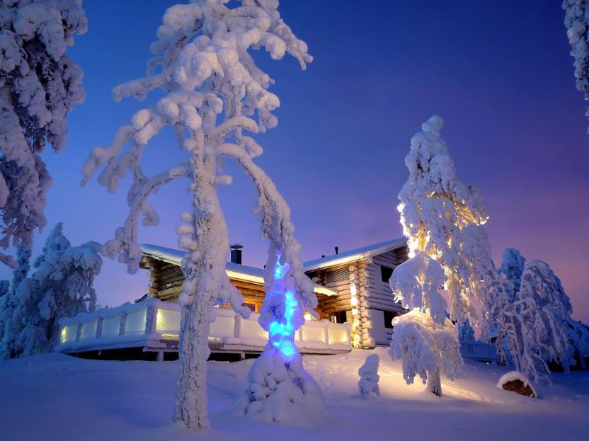 Коттеджный отдых в Финляндии