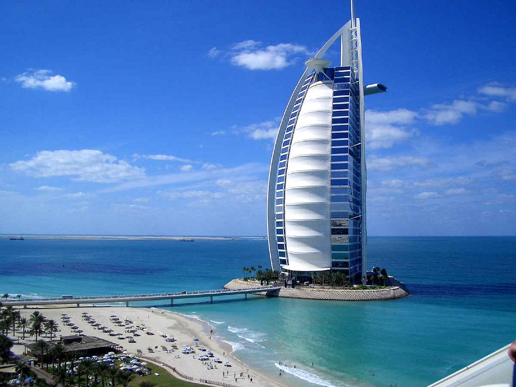 Дубай. Близко к небу