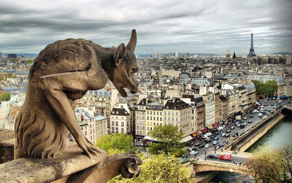 Париж, интересные места