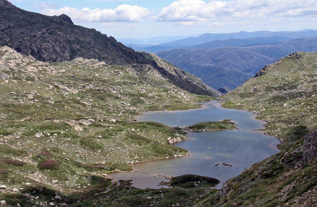 Гора Косцюшко. Большой Водораздельный хребет