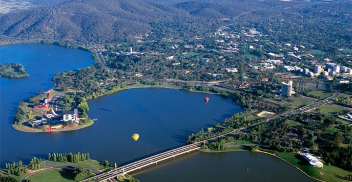 Канберра – зеленый город (Австралия)