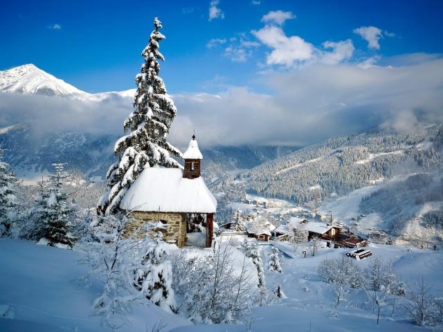 Австрия: курорт Обергургль