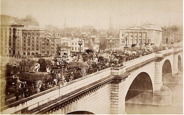 Старинный Лондон на фотоснимках иностранцев