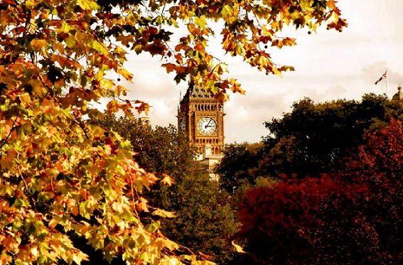 Догнать золотую осень в Англии