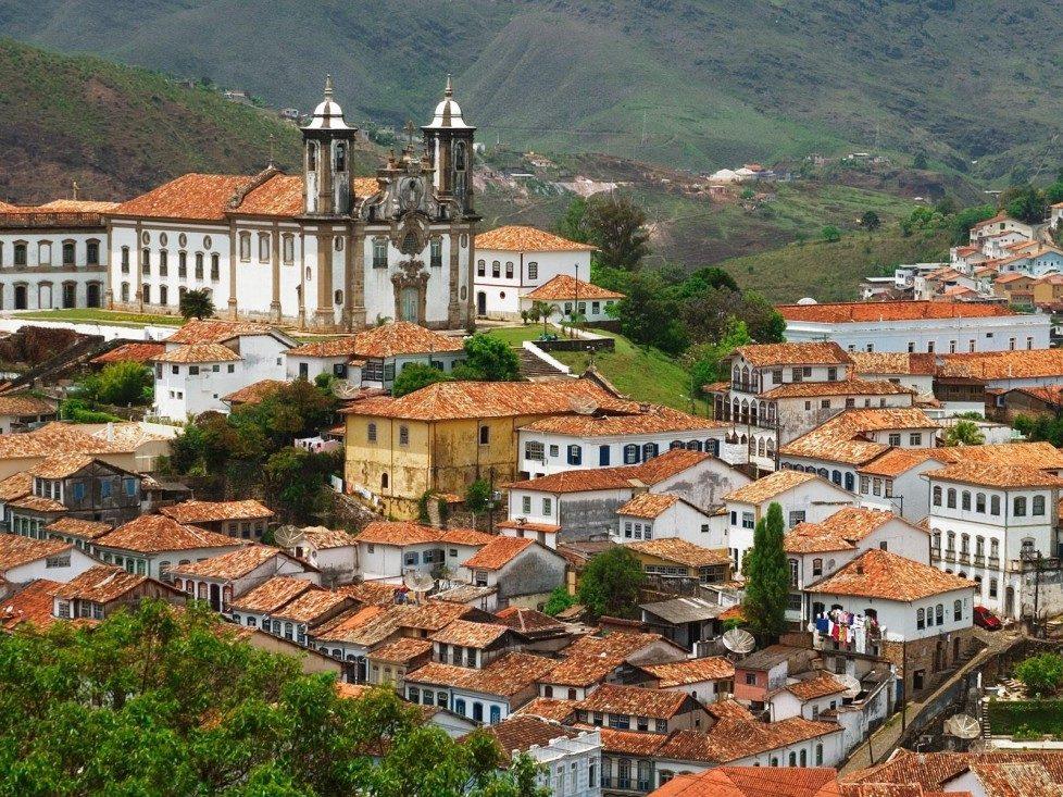 Оуро Прето — достопримечательности Бразилии