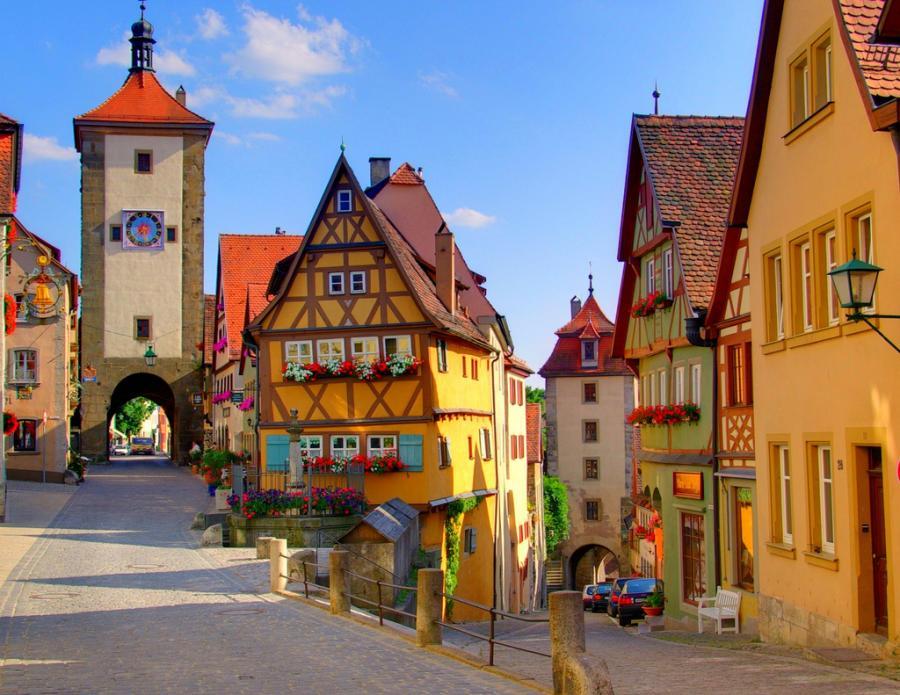 Идеальный отдых в Германии