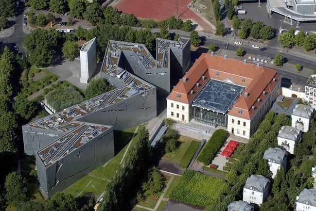 Еврейский музей в Берлине. Начало экскурсии