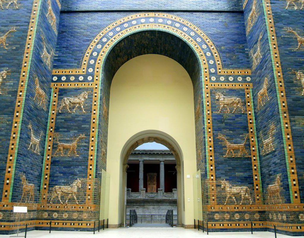 Экспонаты музея Пергамон. Эпизод первый