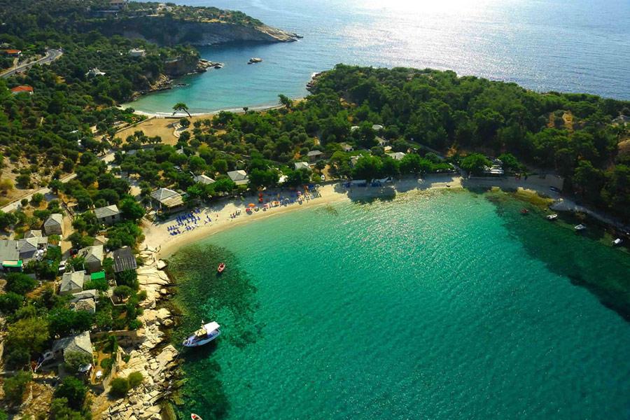 Регионы Греции. Остров Тасос