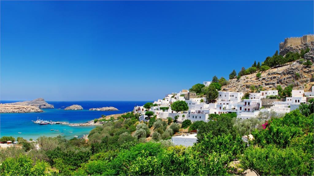 Голубое побережье Греции