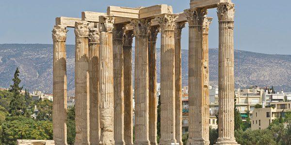 Храм олимпийца Зевса, Афины