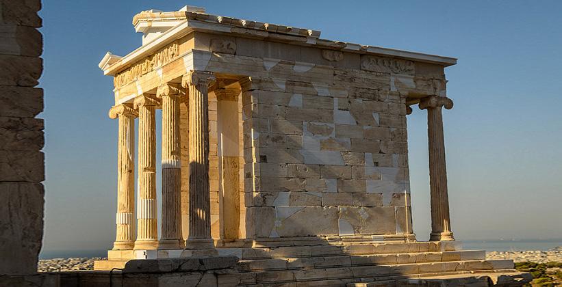 Храм Афины Найк, Афины