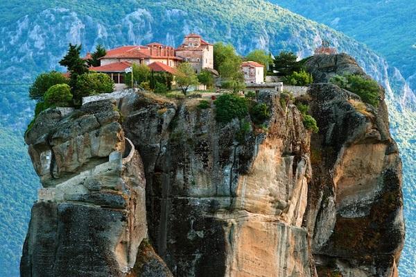 Монастырь Руссана, Метеора и археологический музей, остров Наксос