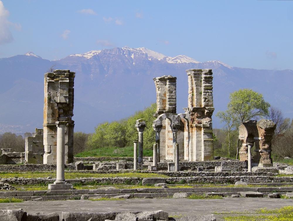 История Филиппи, Греция