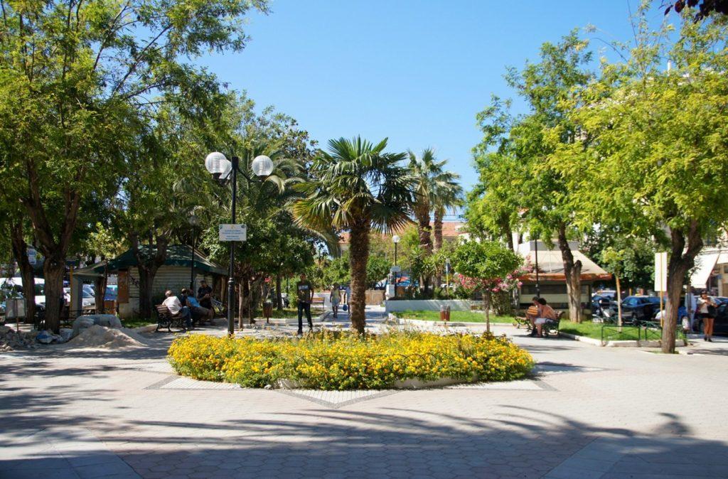 Центральный городской парк Ханьи фото - 12765