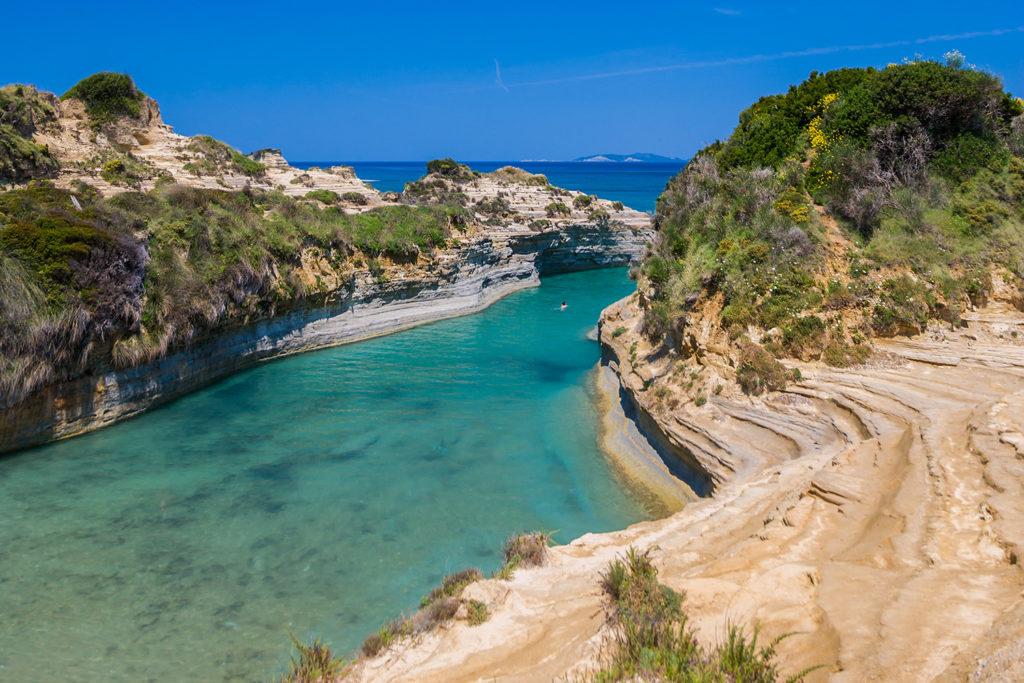 Канал любви. Остров Корфу. Греция