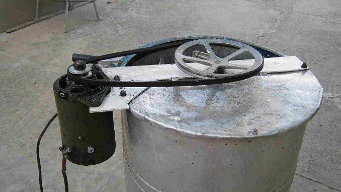 Делаем электропривод для медогонки своими руками: пошаговая 50