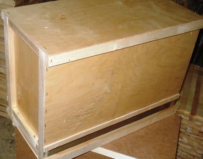 Изготовление улья для пчел из фанеры