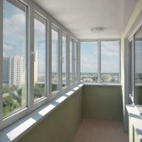 29964 Остекление балконов и лоджий в квартире
