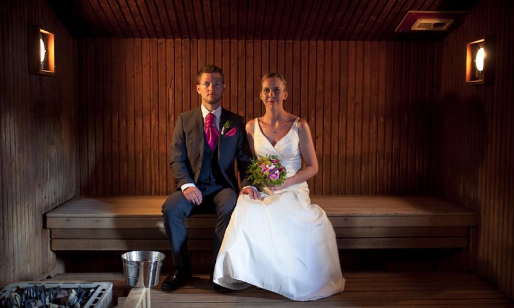 Свадьба в сауне