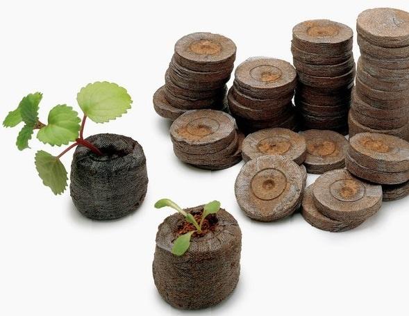 30641 Торфяные таблетки – находка для ленивого садовода