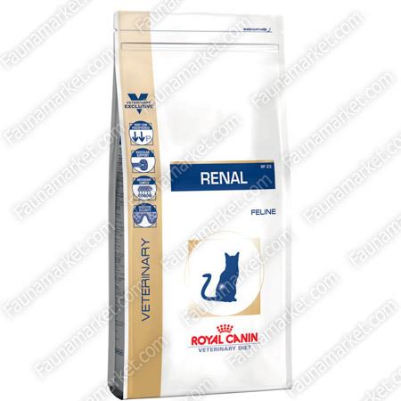 В каких случаях стоит ввести в рацион кошек корм Royal Canin Renal