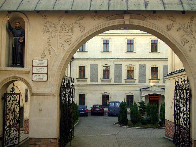 32209 Увлекательное путешествие. Польша: Францисканский монастырь в Глогувеке