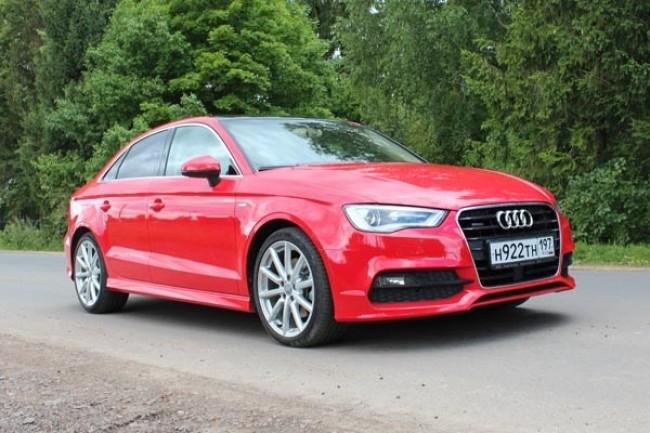 33730 Audi A3 Sedan: Тяга к приключениям. Audi A3 Sedan
