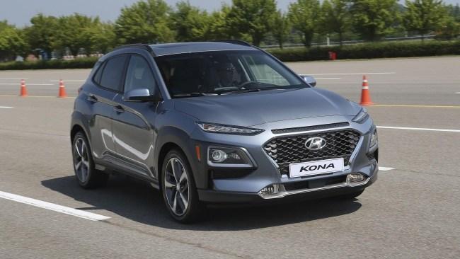 33583 Hyundai Kona: Крепыш. Hyundai Kona