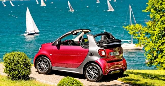 35426 Электрокабриолет: smart EQ fortwo cabrio. smart EQ fortwo cabrio