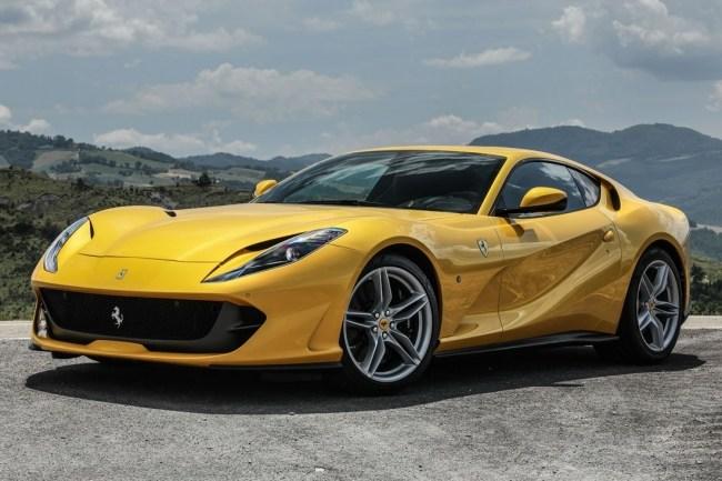 34928 Ferrari 812 superfast. Атмосфера скорости. Ferrari 812superfast